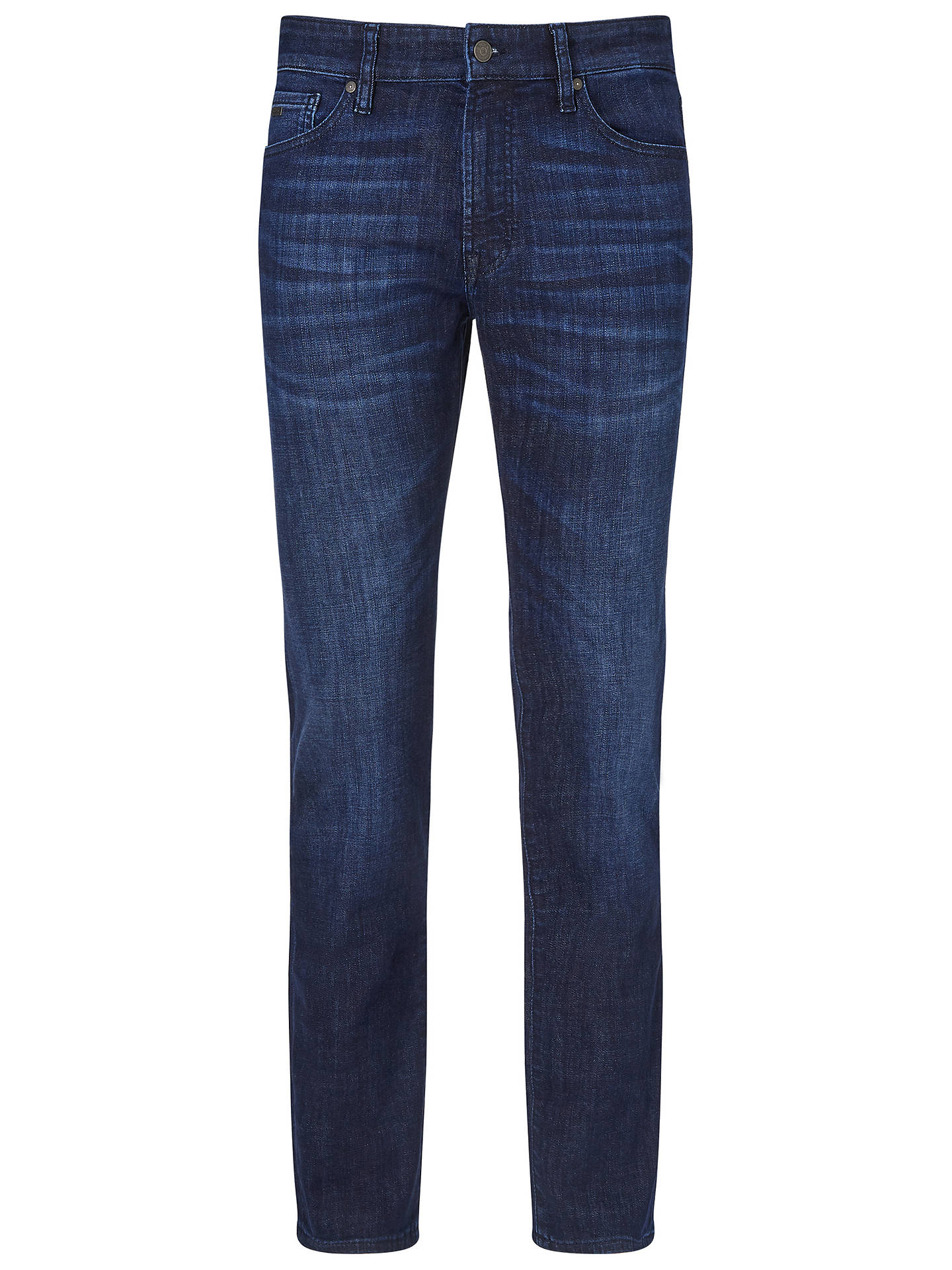 BuyBOSS Maine Regular Fit Jeans, Blue, 30R Online at johnlewis.com