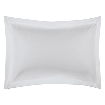 John Lewis 600 Thread Count Cotton Satin Pillowcase, Cool Grey