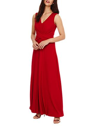 Phase Eight Livi Maxi Dress, Scarlet