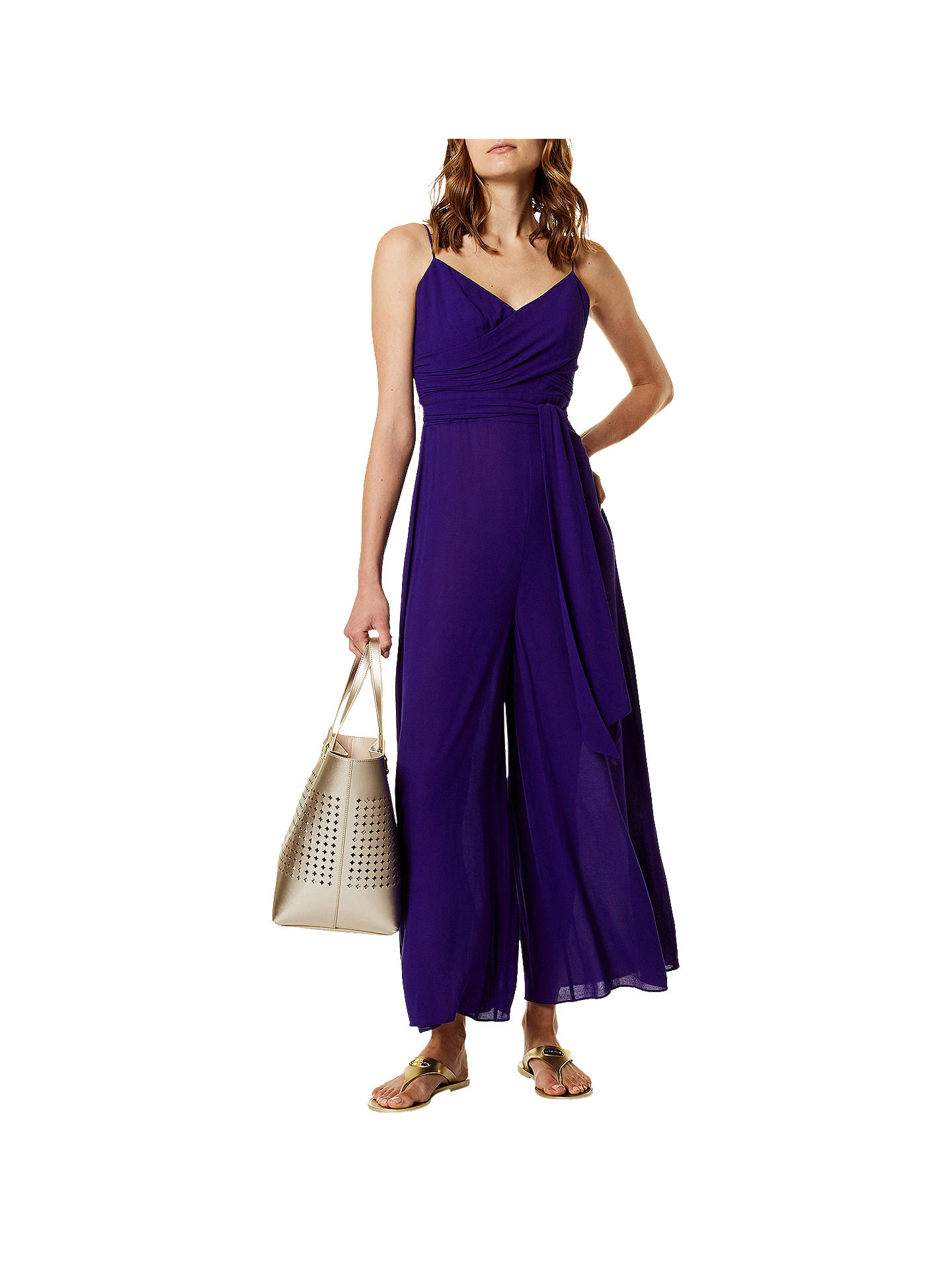 4fdd3561f25 Buy Karen Millen Wide Leg Jumpsuit