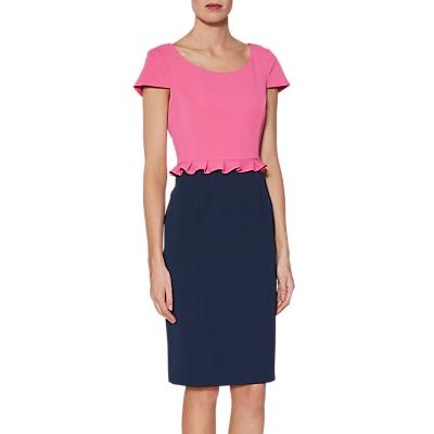 Gina Bacconi Trudy Dress, Pink/Multi