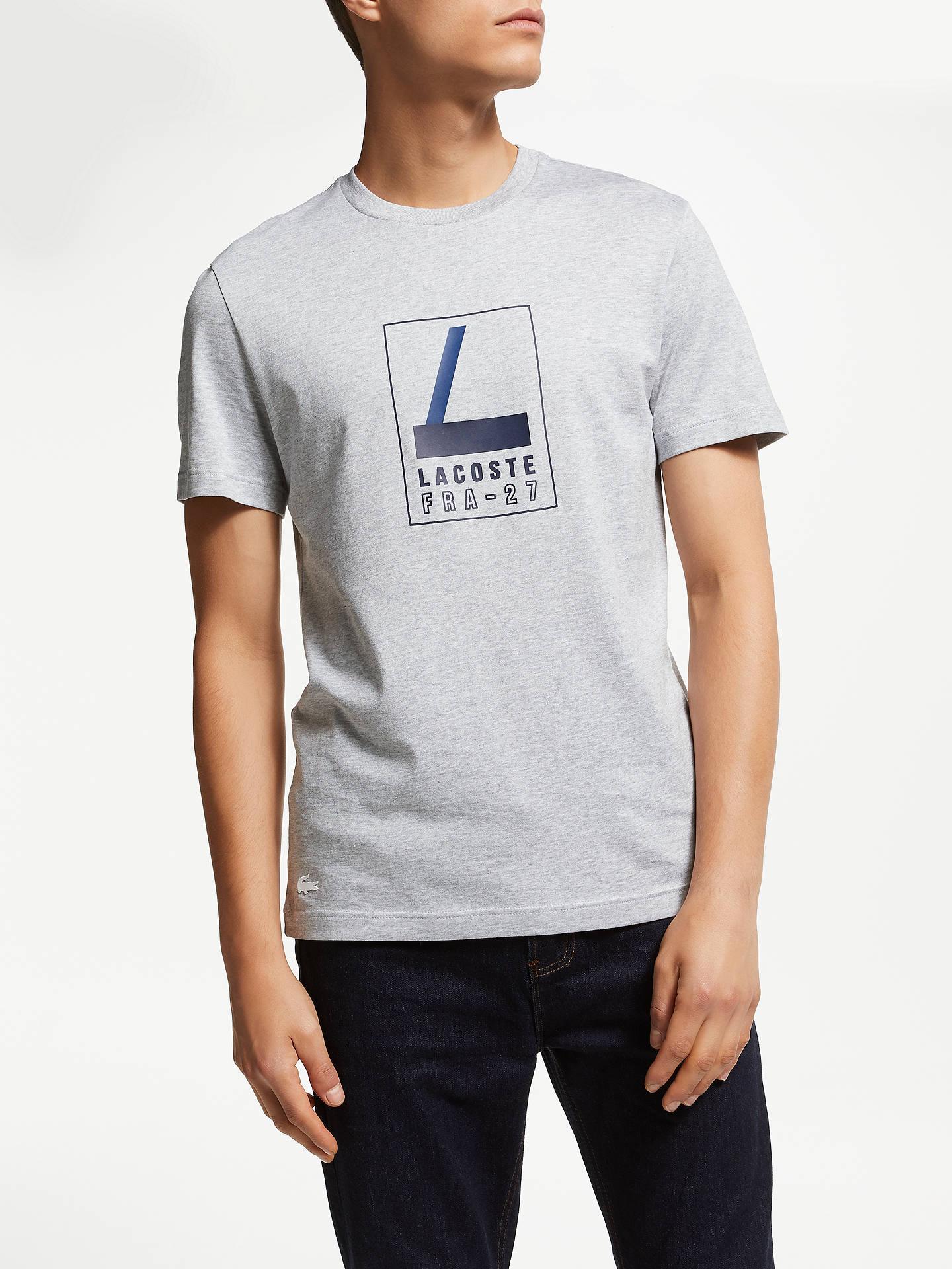978ab14b24237d Buy Lacoste Short Sleeve Abstract Croc Logo T-Shirt