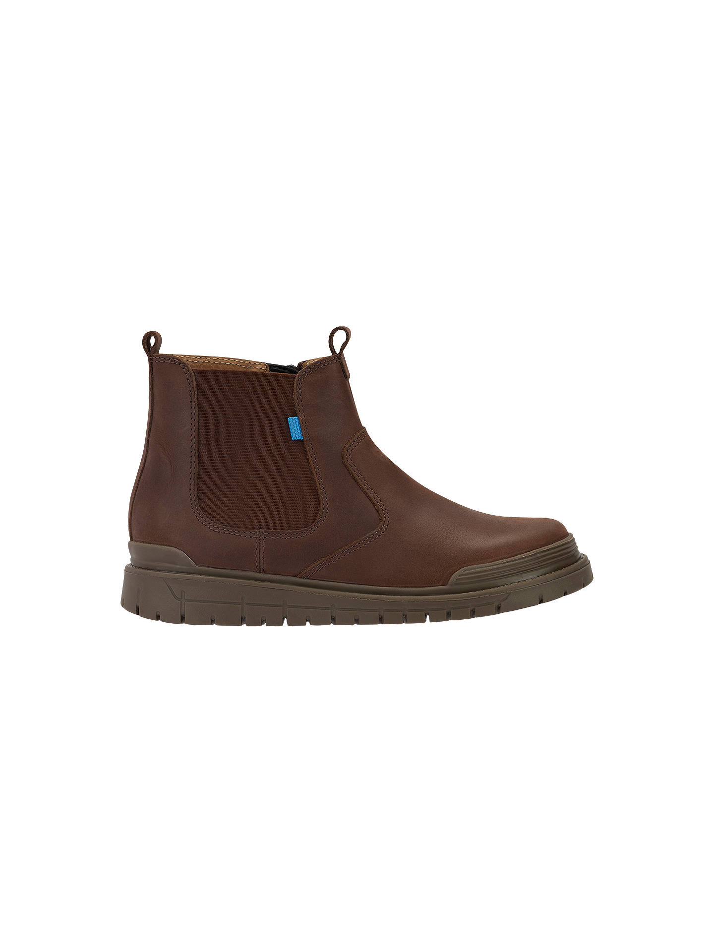 Buy Start-rite Children's Infant Leather Chelsea Boots, Brown, 12.5F Jnr Online at johnlewis.com
