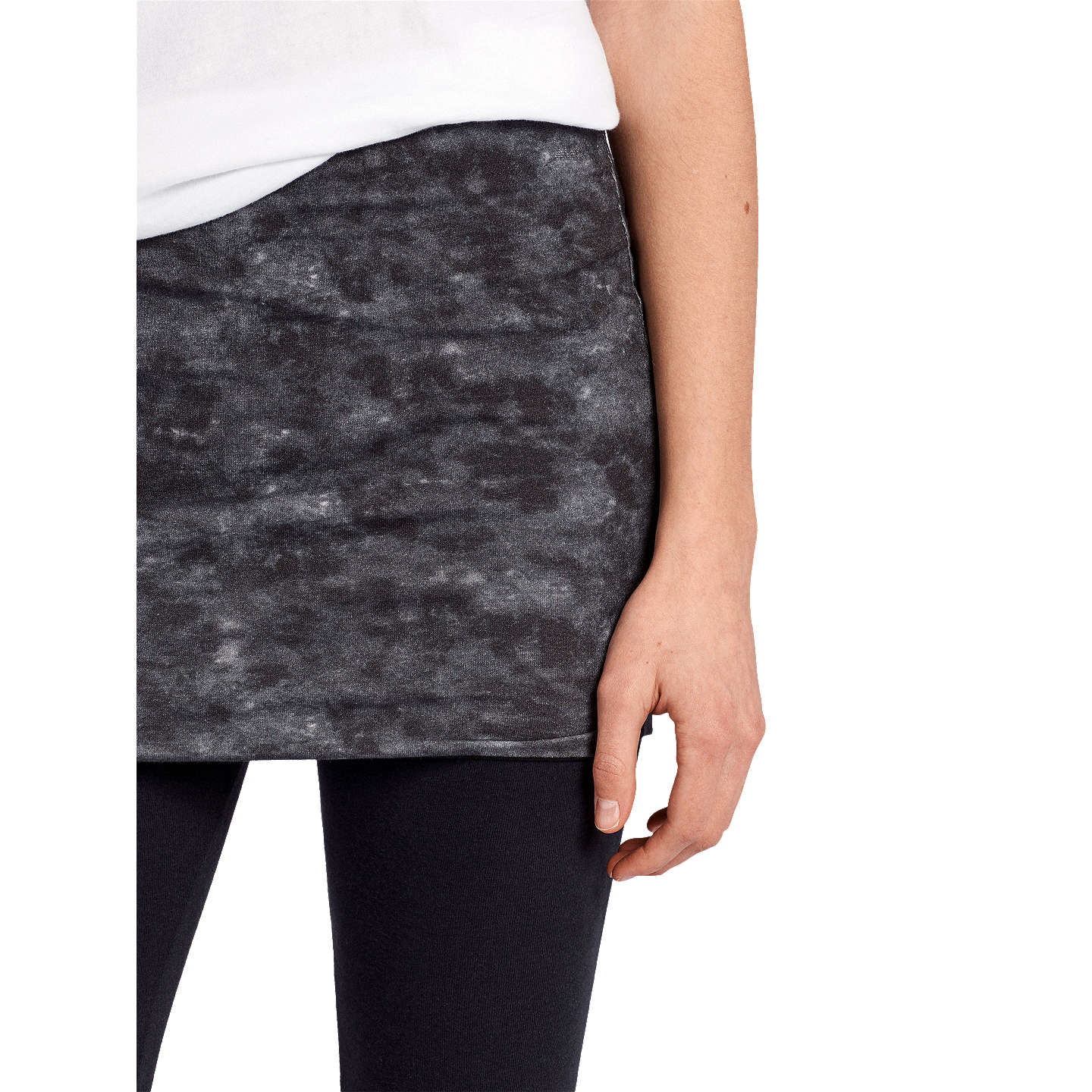 BuyAllSaints Raffi Leggings, Washed Black, XS Online at johnlewis.com