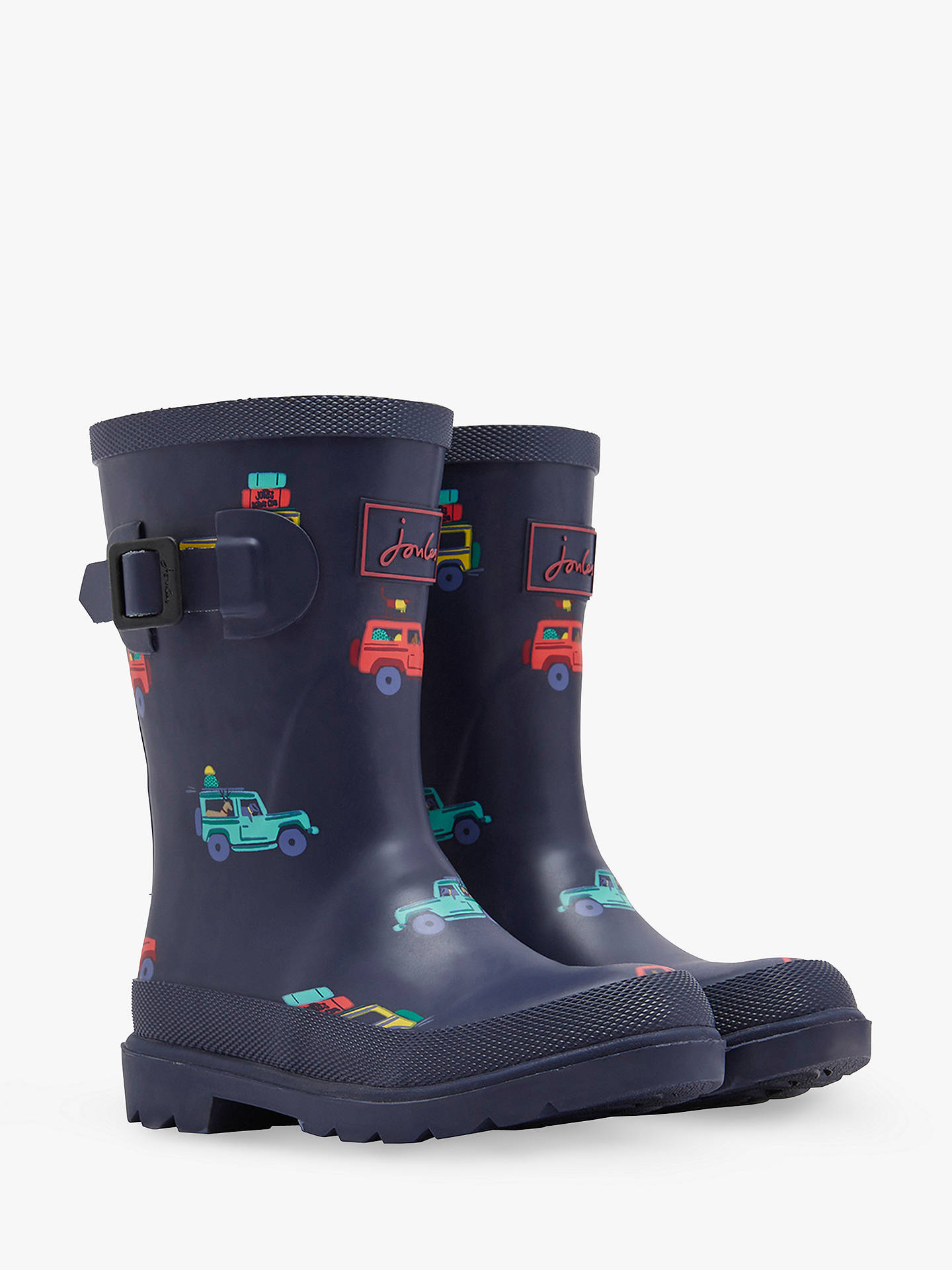 Buy Baby Joule Scout Wellington Boots, Navy, 12 Jnr Online at johnlewis.com