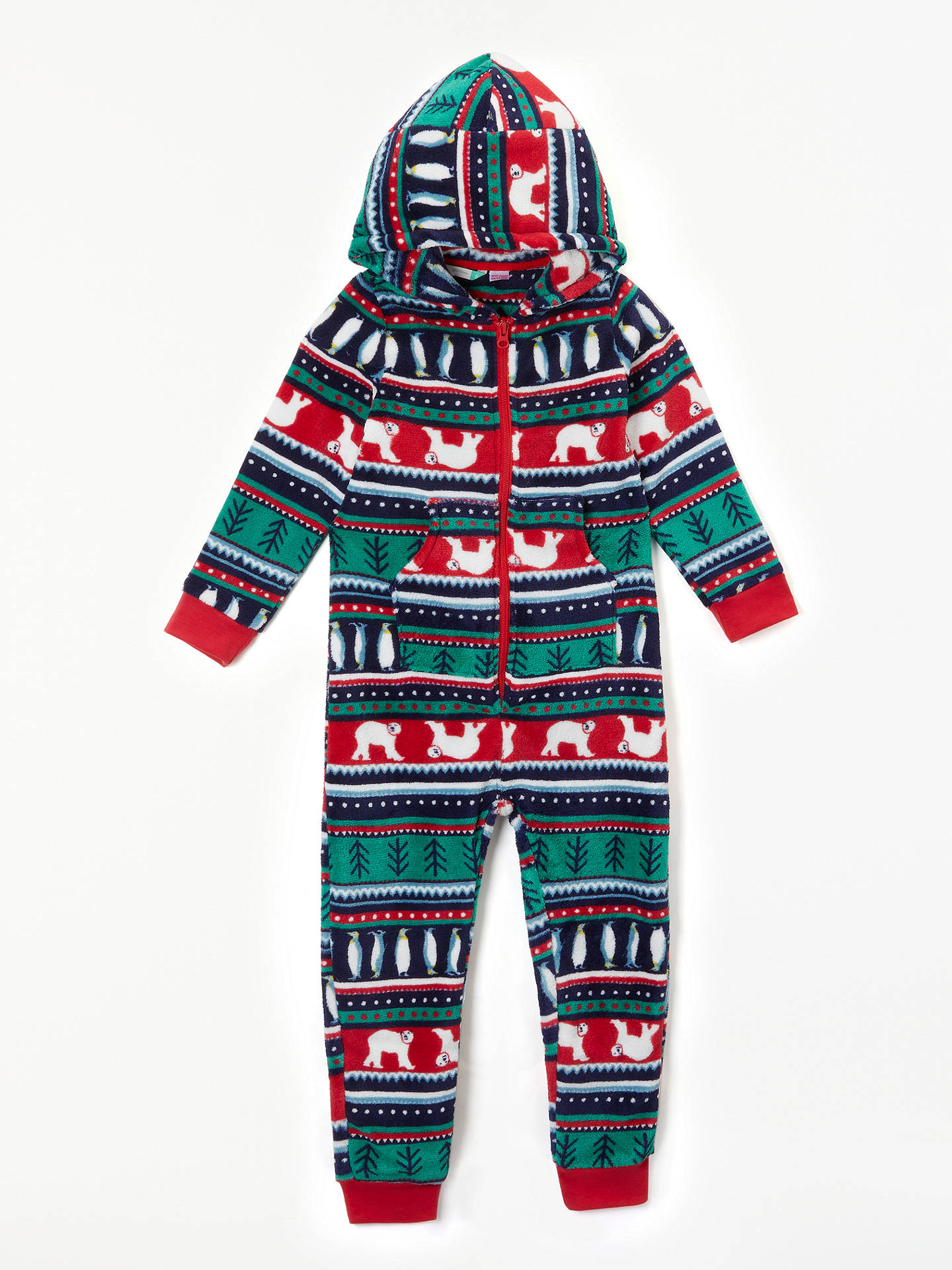 0f83c934d John Lewis   Partners Children s Christmas Fair Isle Onesie