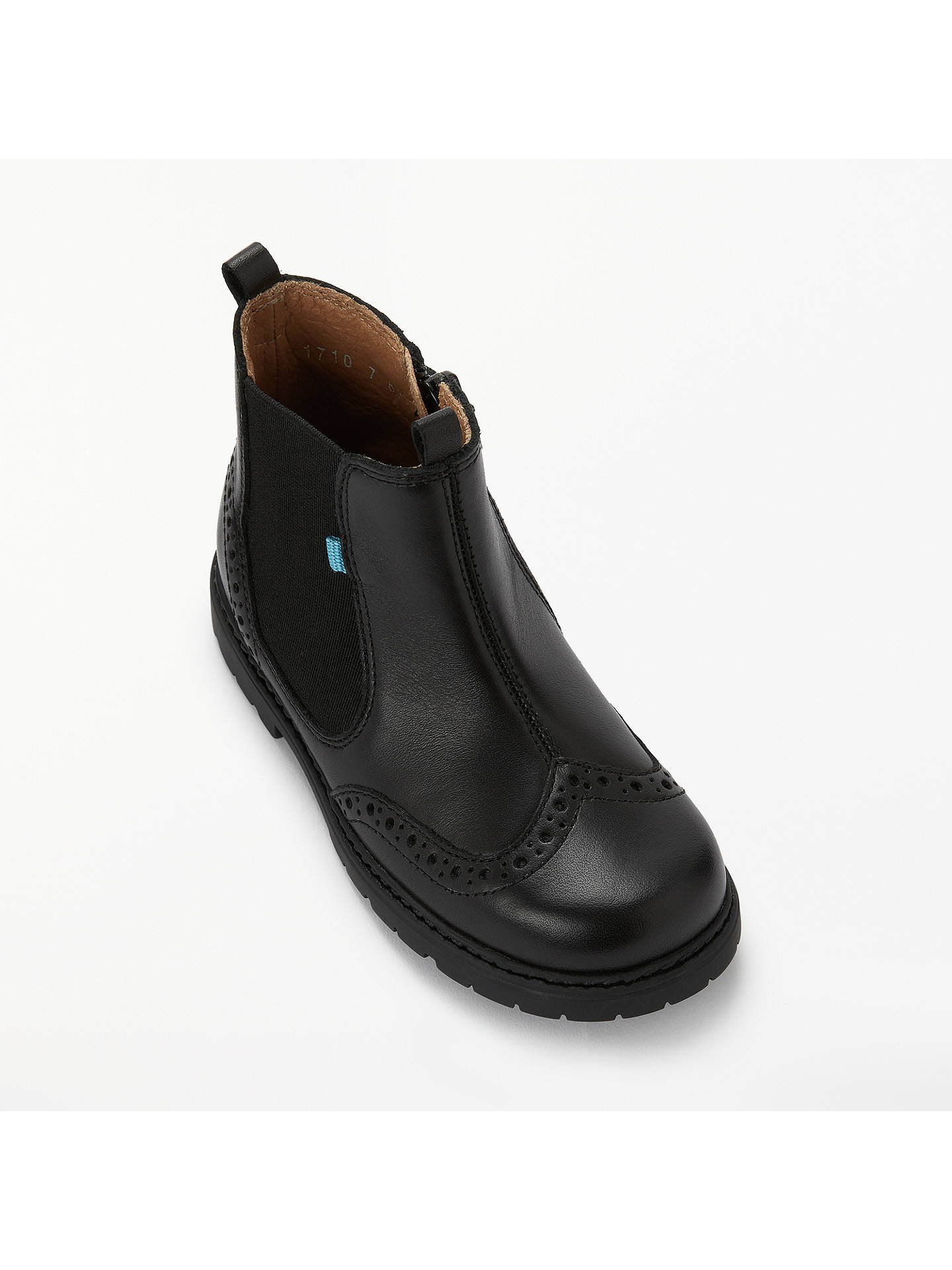 BuyStart-Rite Children's Digby Chelsea Boots, Black, 12.5F Jnr Online at johnlewis.com
