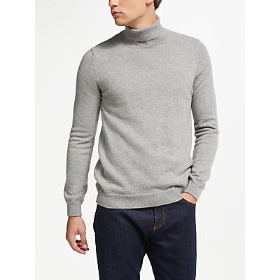 Image of John Lewis & Partners Italian Cashmere Roll Neck