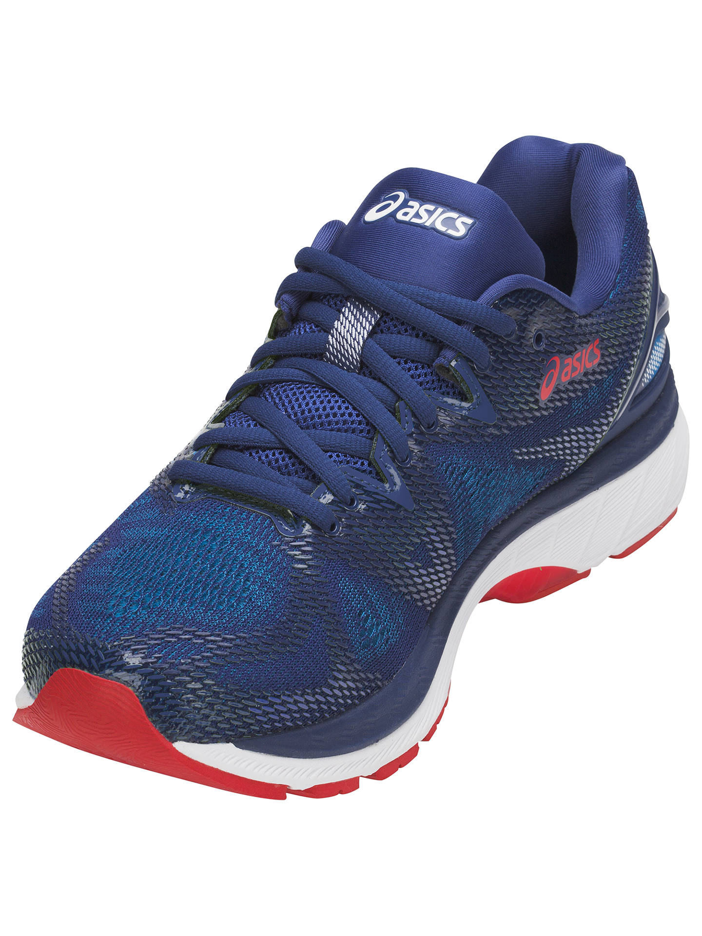 BuyASICS GEL-NIMBUS 20 Men's Running Shoes, Blue Print/Race Blue, 7 Online at johnlewis.com