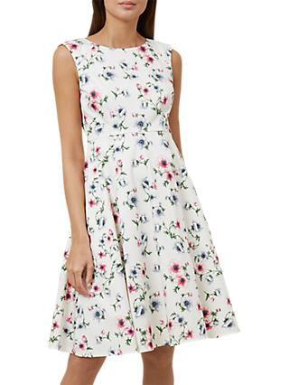 Hobbs Nova Dress, Multi