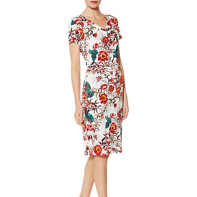 Gina Bacconi Barda Dress, Multi/Cream