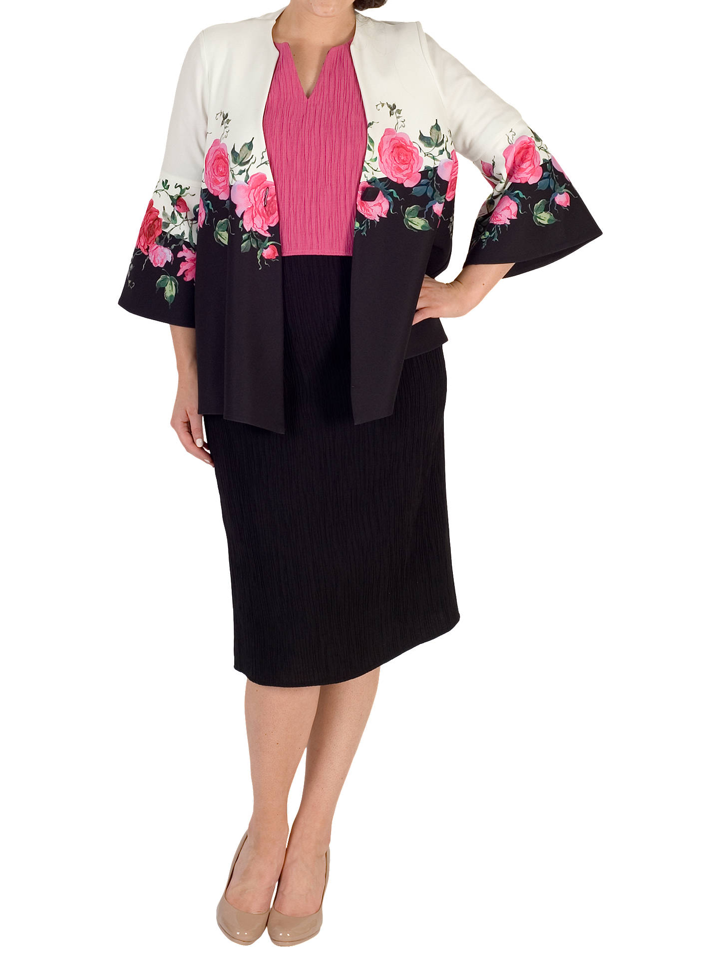 Buy Chesca Rose Jacket, Multi, 12-14 Online at johnlewis.com