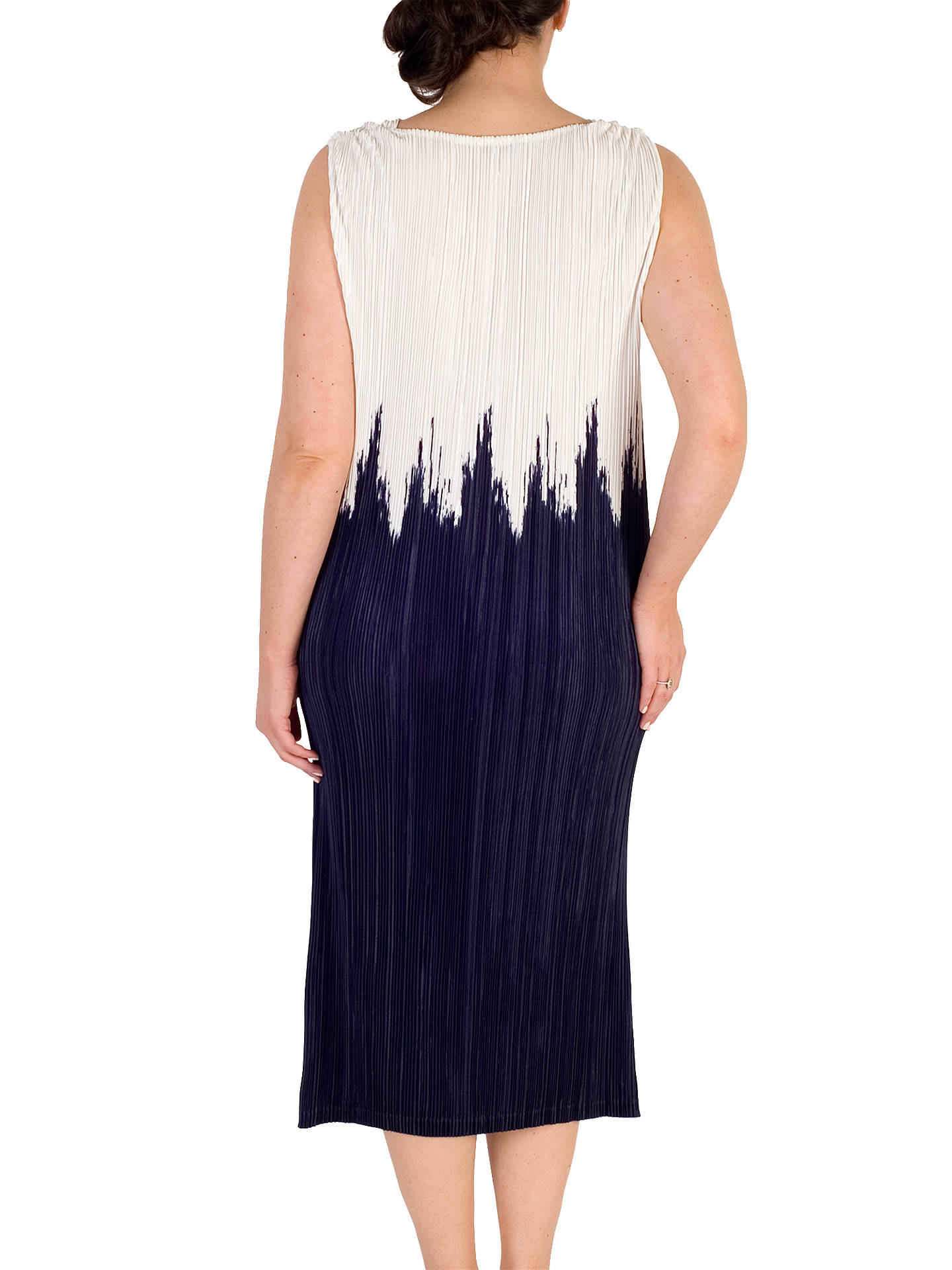 BuyChesca Colourblock Dress, Ivory/Blue, 12-14 Online at johnlewis.com