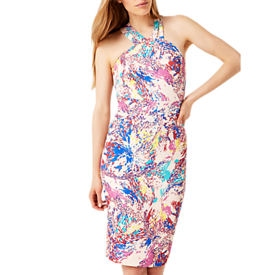 Damsel in a Dress Audrina Scuba Dress, Multi
