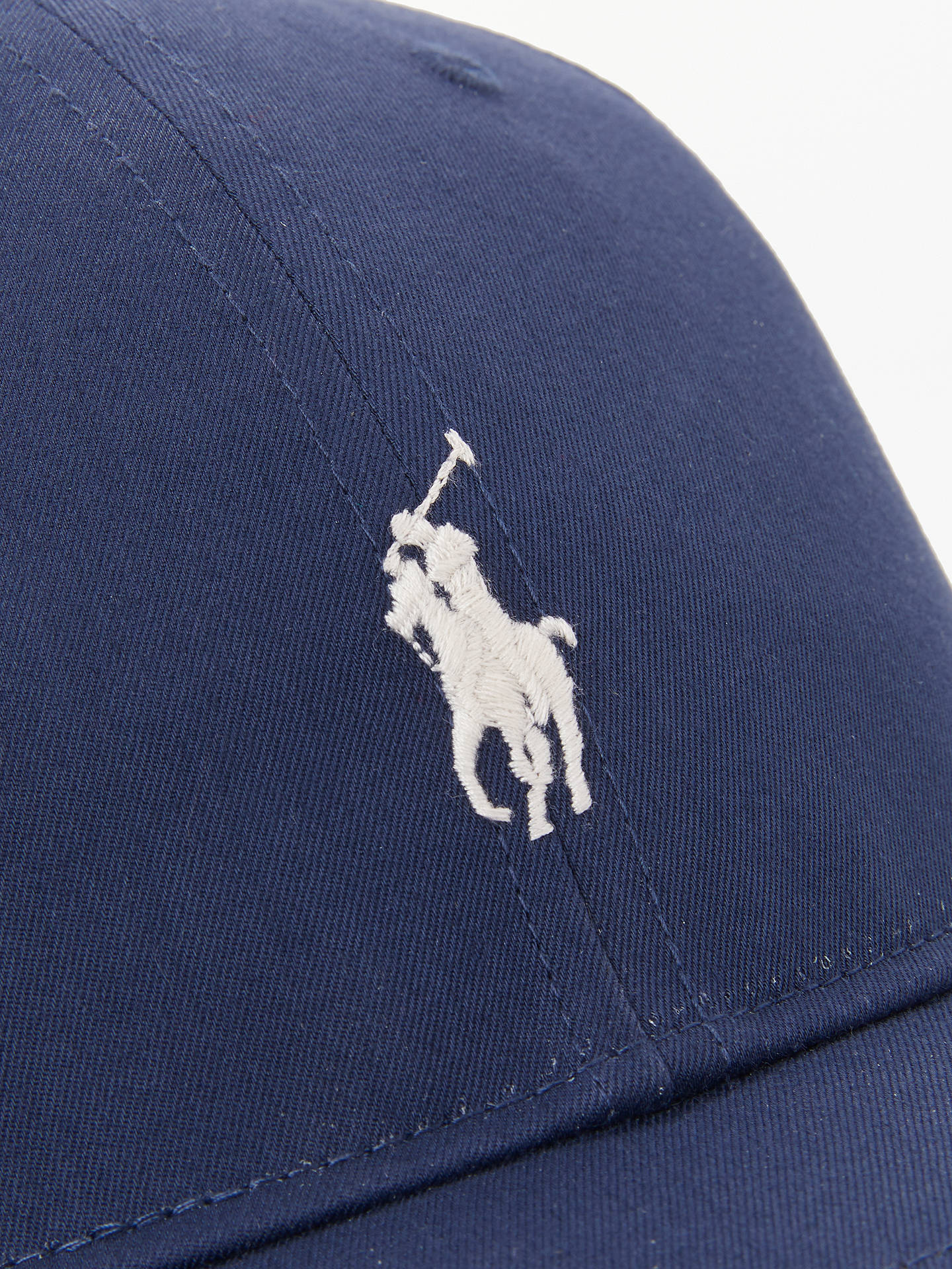 Buy Polo Golf by Ralph Lauren Fairway Cap, French Navy, One Size Online at johnlewis.com