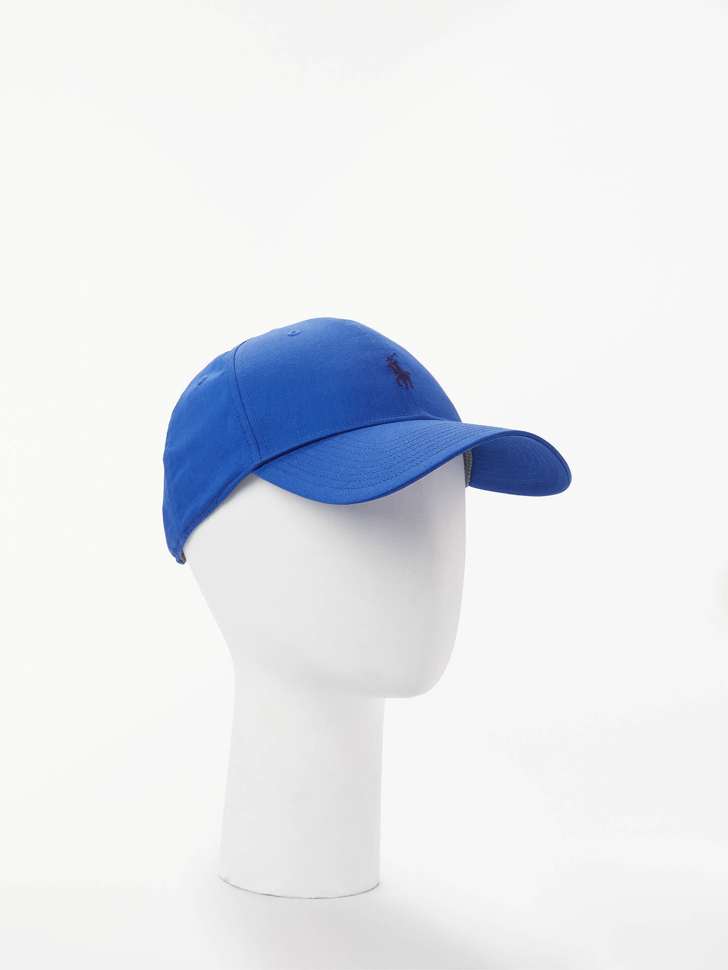 Buy Polo Golf by Ralph Lauren Fairway Cap, Crayon Blue, One Size Online at johnlewis.com