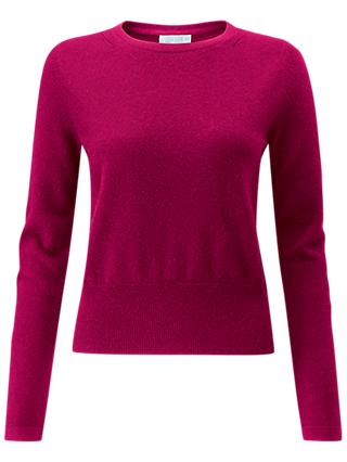 Pure Collection Cashmere Cropped Jumper