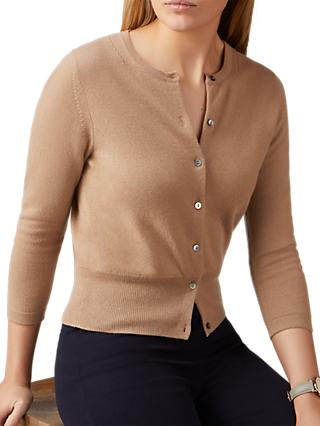 Pure Collection Cashmere Cropped Cardigan ca7b86105