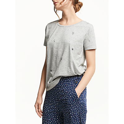 Numph Amali Jersey T-Shirt, Drizzle