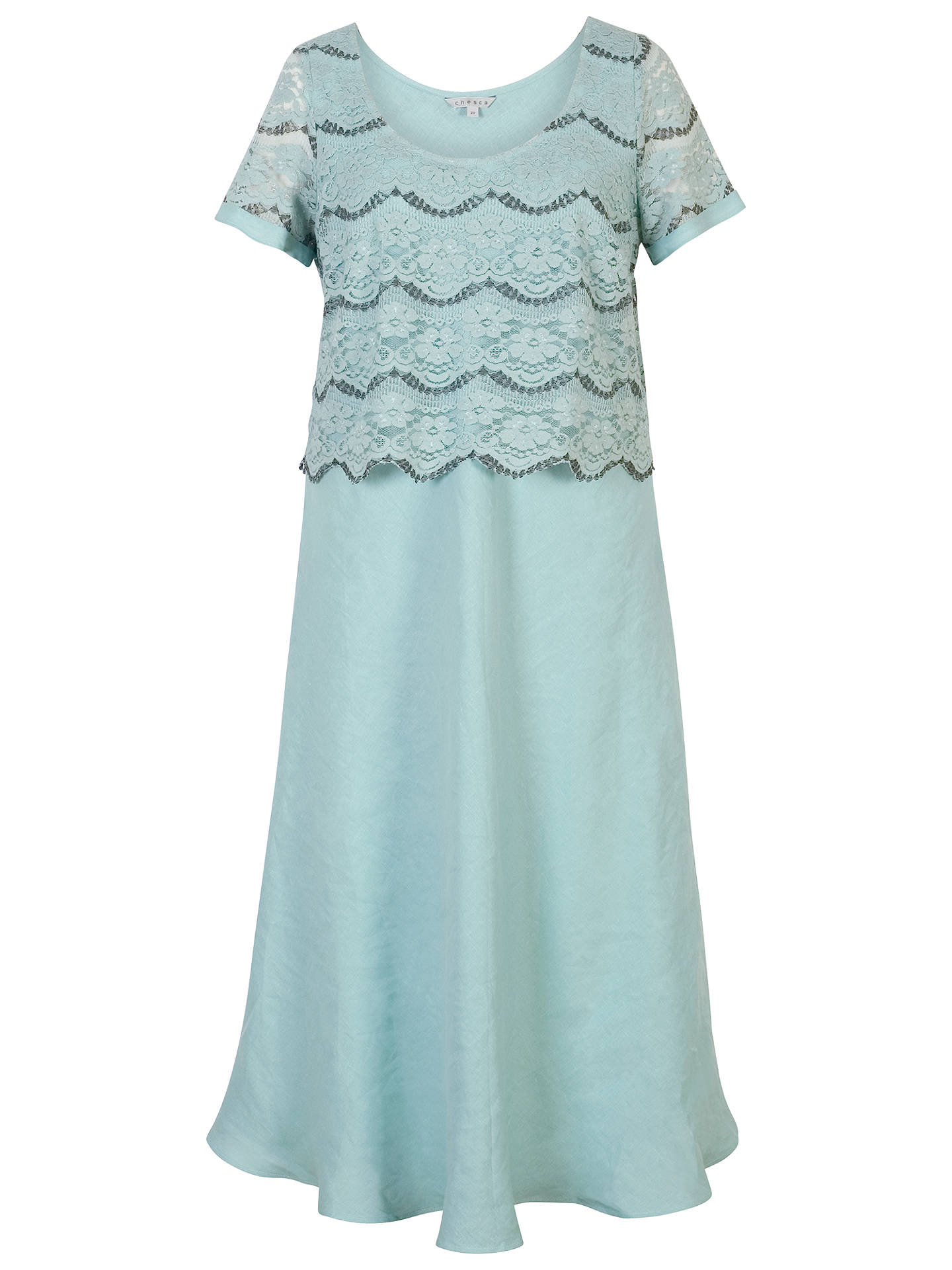 e0a1616359 ... Buy Chesca Linen Flared Dress