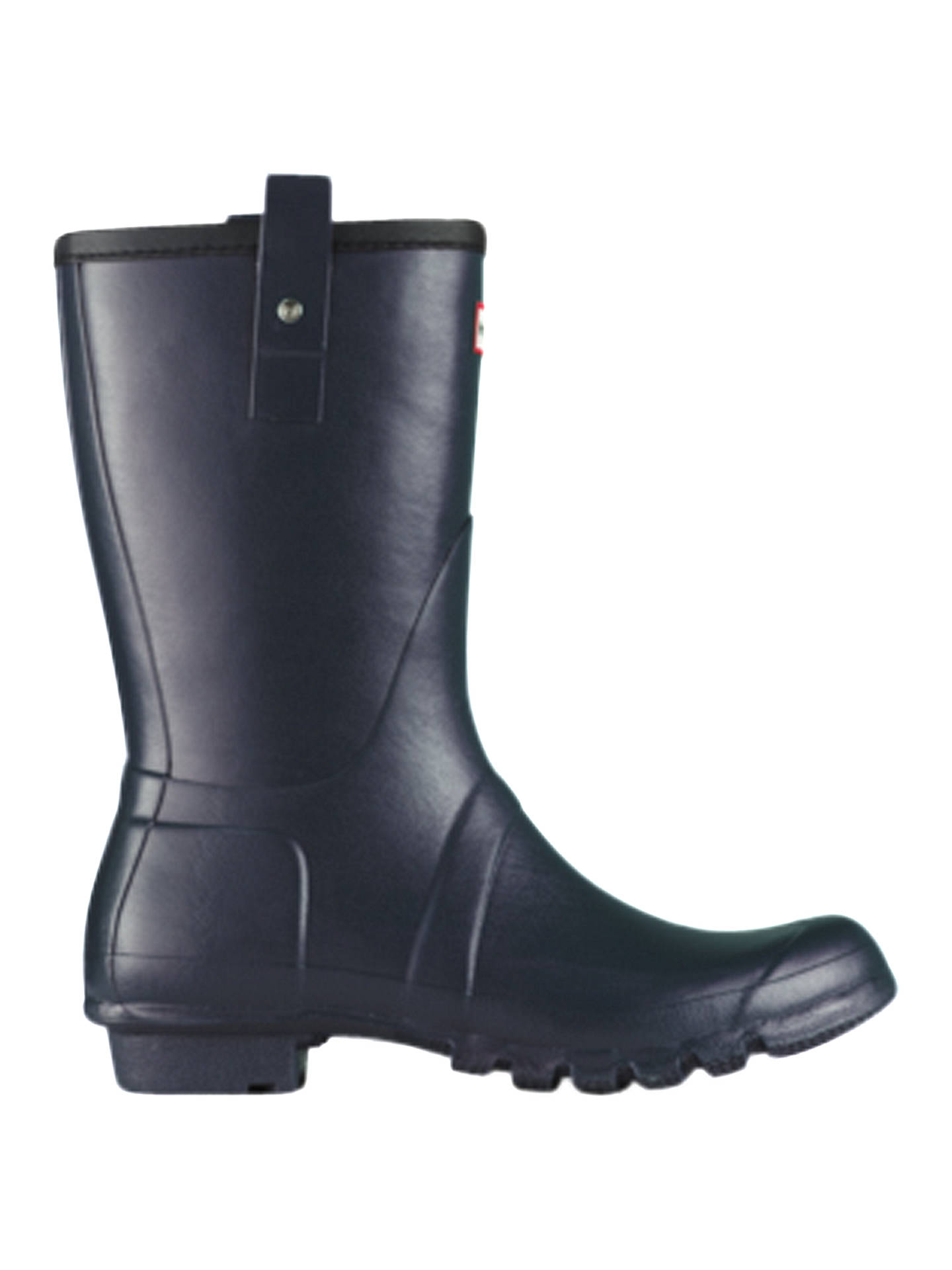 Buy Hunter Original Short Wellington Boots, Navy, 8 Online at johnlewis.com