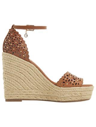 7c5a7058d79 Dune Kamilea Cut-Out Stud Wedged High Heel Sandals