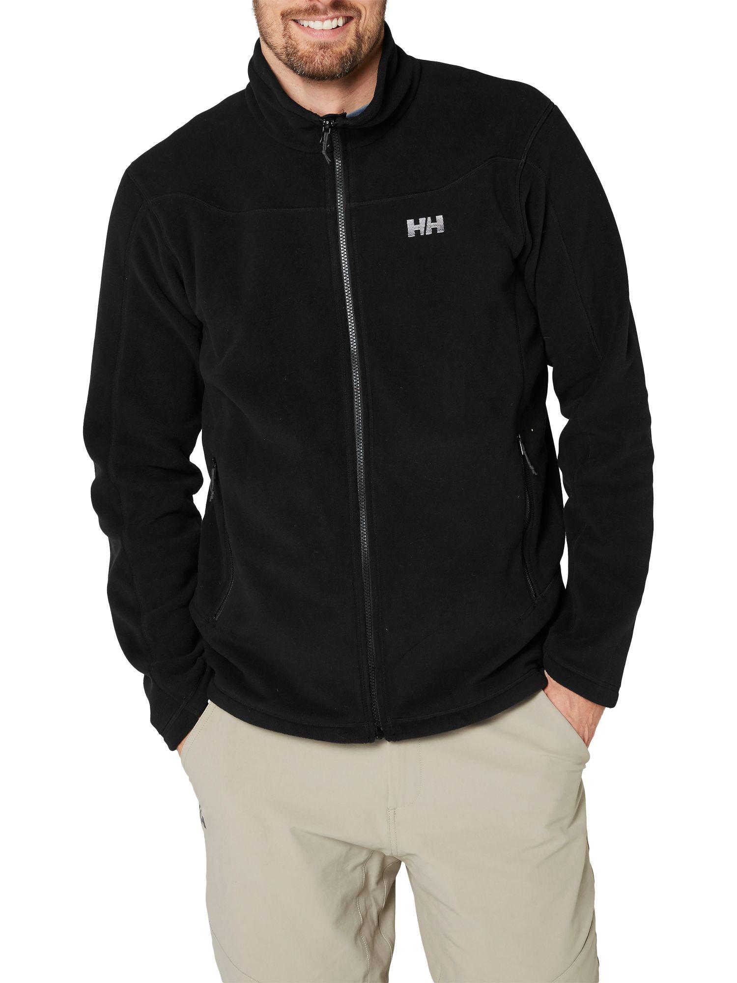 Helly Hansen Helly Hansen Daybreaker Full-Zip Men's Fleece Jacket, Black
