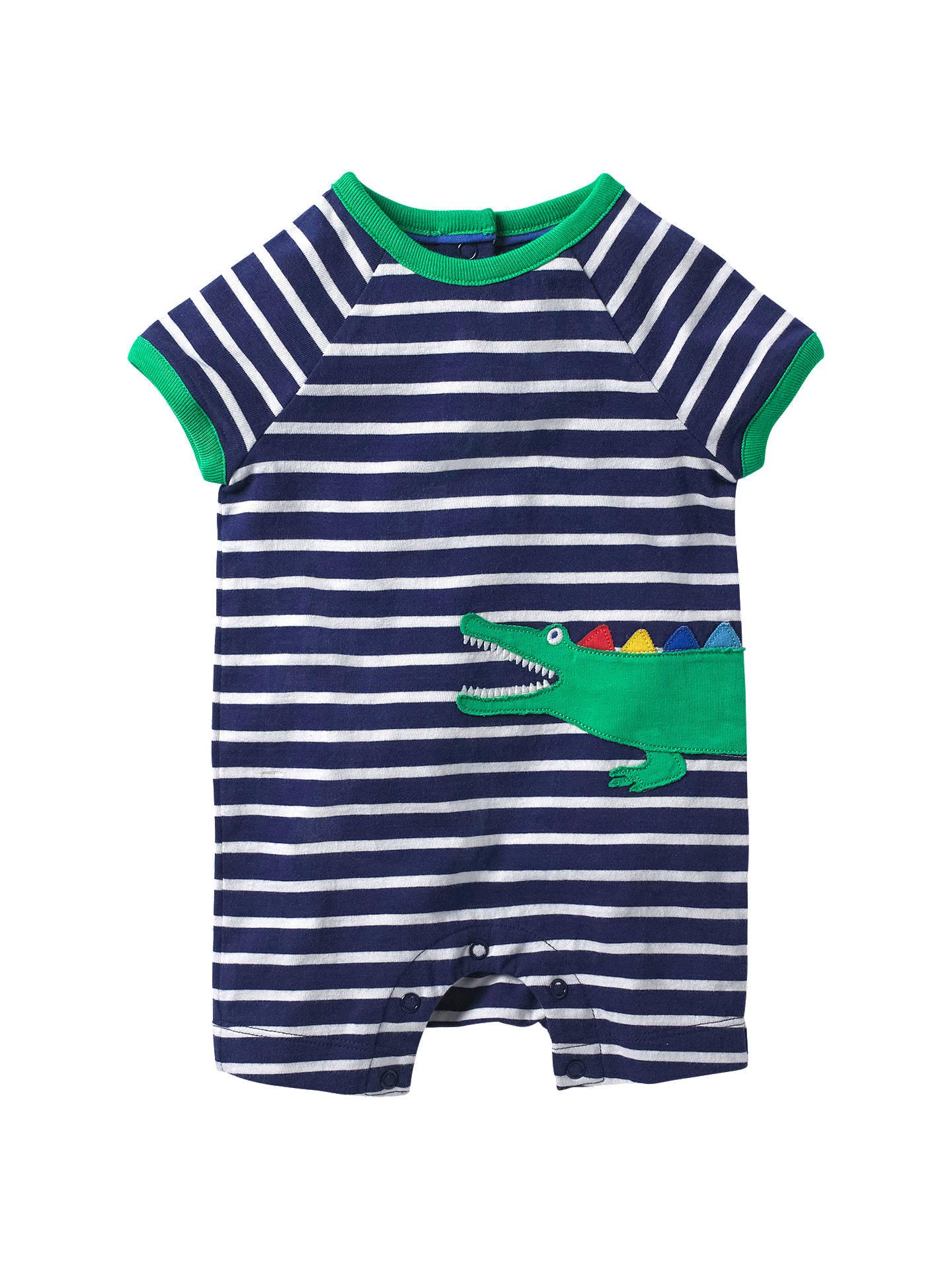 e6771fcad9f1 Buy Mini Boden Baby Stripe Croc Applique Romper