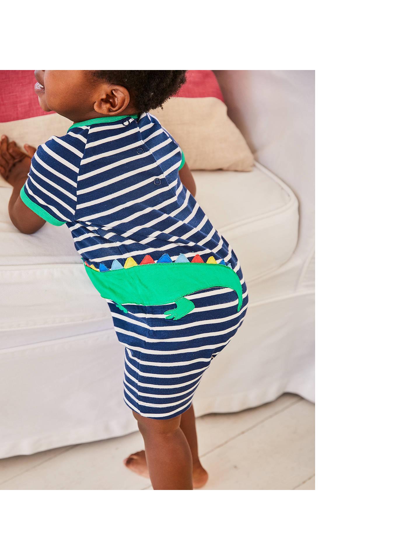 f8954fa0ea3c ... Buy Mini Boden Baby Stripe Croc Applique Romper