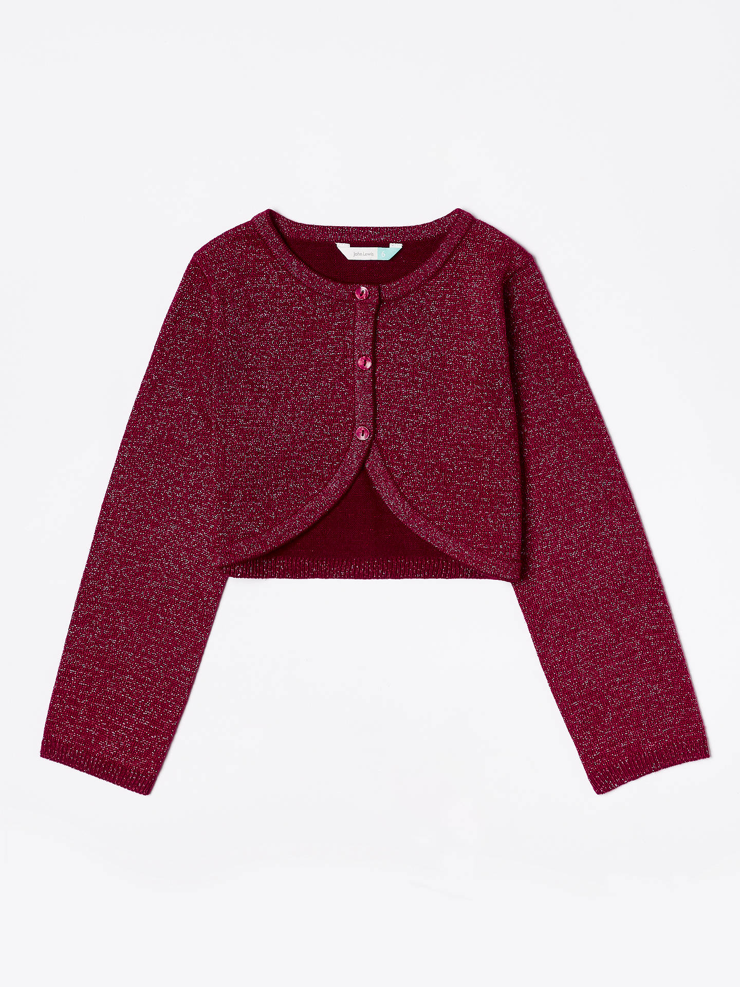 063e800b5 John Lewis   Partners Girls  Party Cardigan