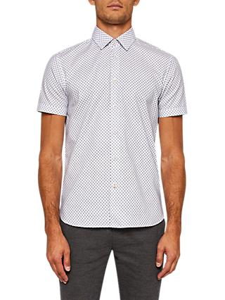 Ted Baker Foresth Short Sleeve Shirt, White
