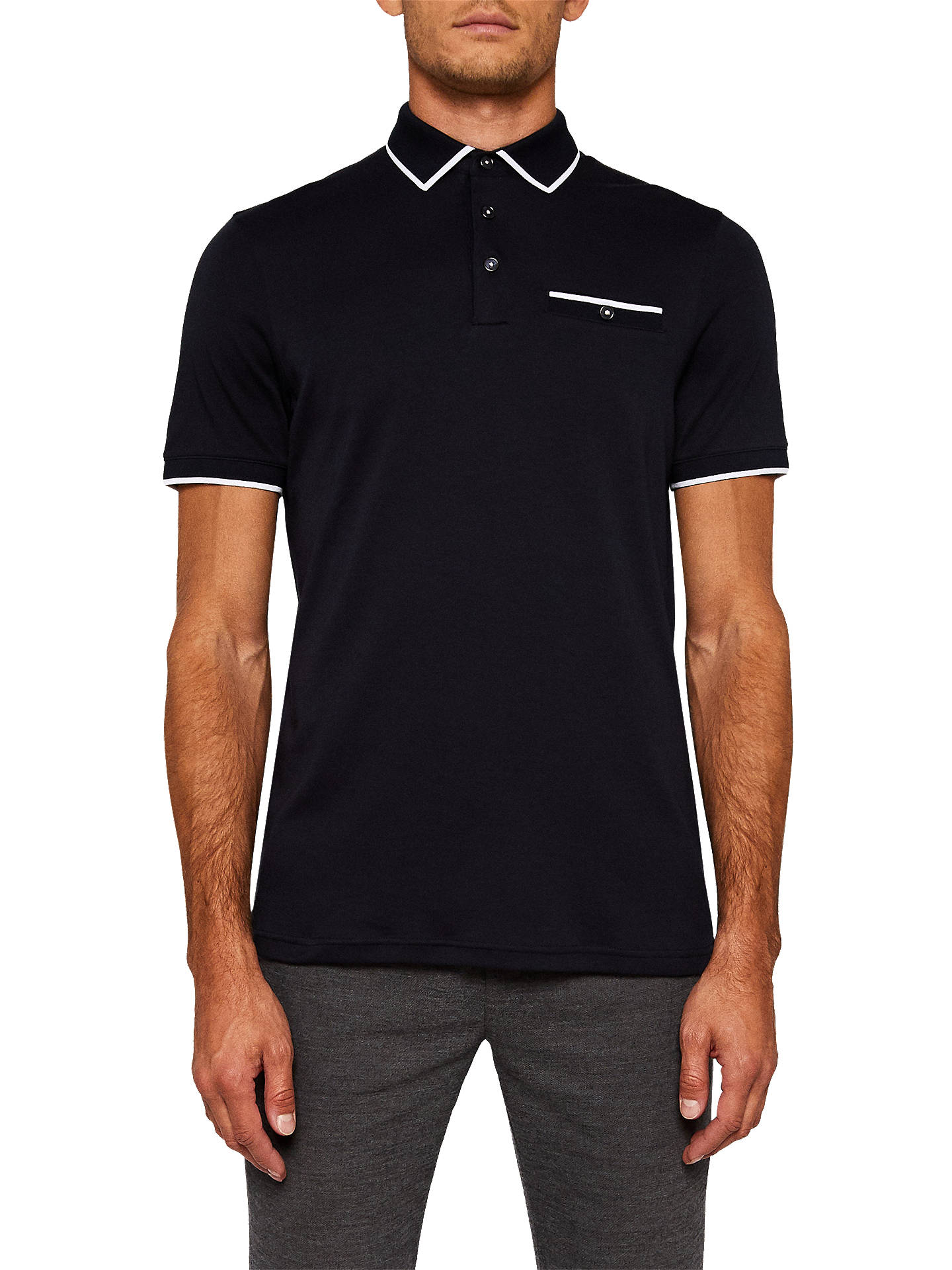 885a4178f Ted Baker Jelly Short Sleeve Polo Shirt at John Lewis   Partners