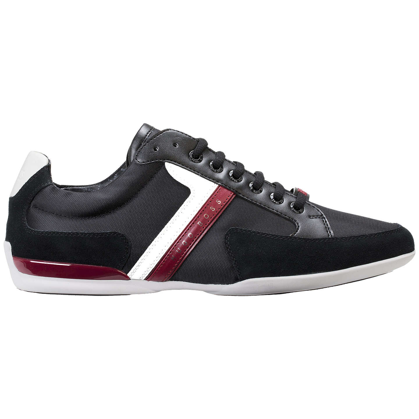 BuyHUGO BOSS Spacit Trainers, Charcoal, 7 Online at johnlewis.com