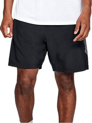 "Under Armour Mirage HeatGear 8"" Shorts, Black"