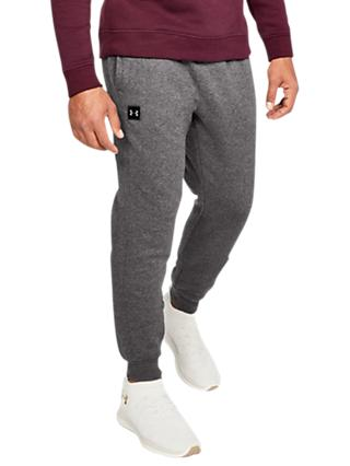 Under Armour Rival Jogging Bottoms, Charcoal Light Heather/Black