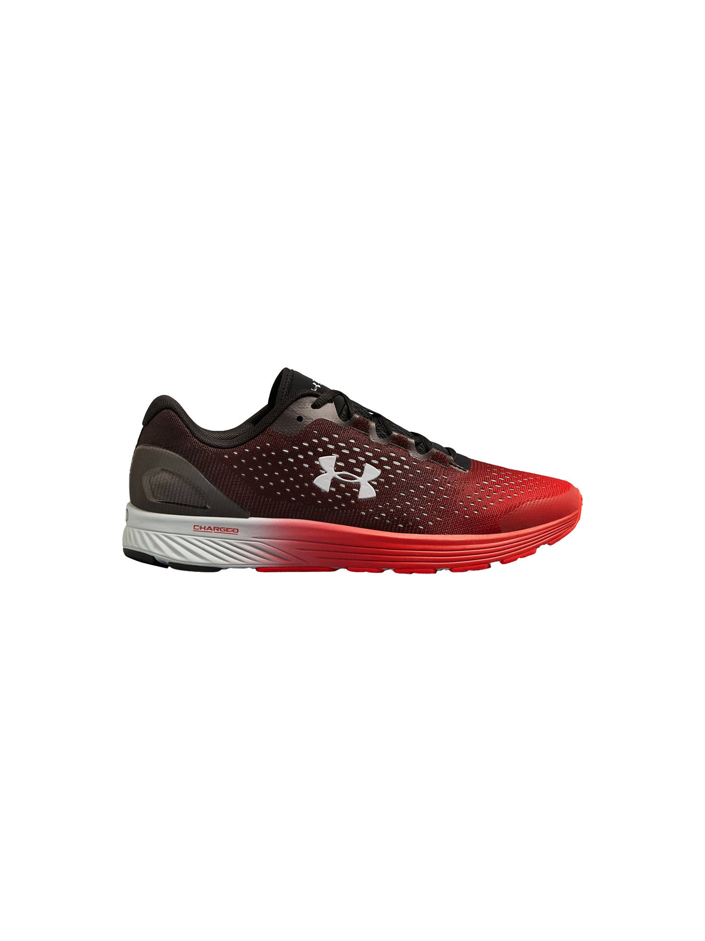 save off 3e210 cd8d3 Under Armour Charged Bandit 4 Men's Running Shoes, Black/Red ...