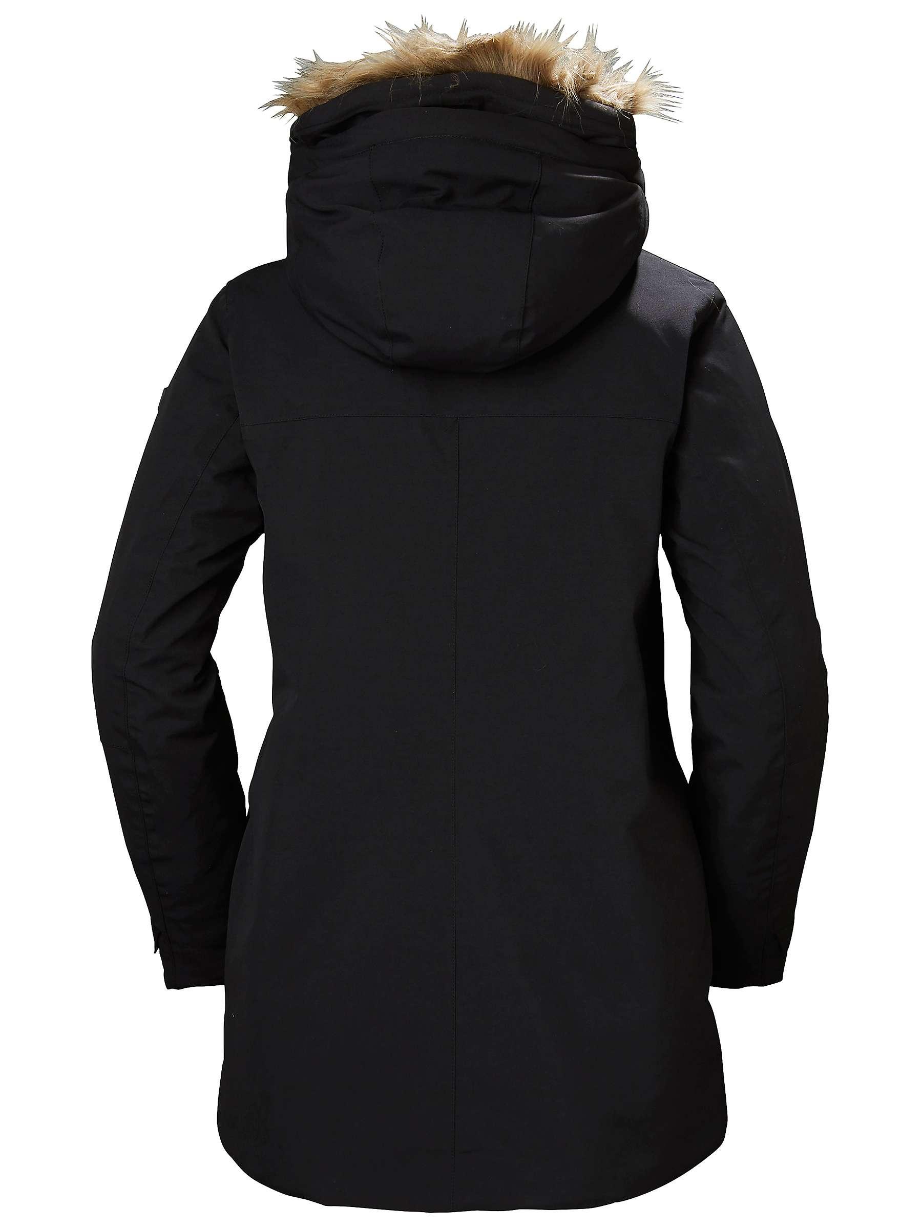 low price sale sleek select for genuine Helly Hansen Svalbard Women's Parka Jacket, Black at John ...