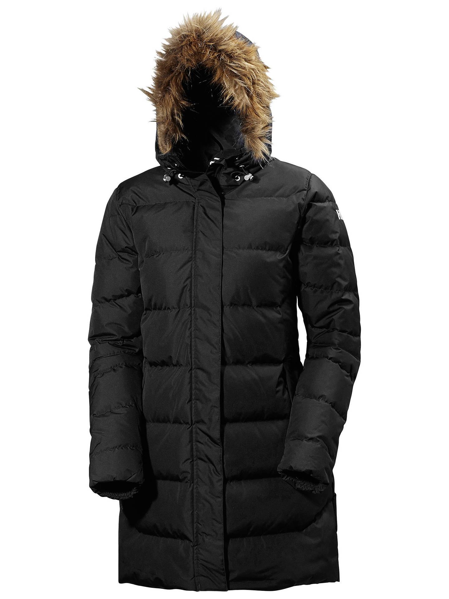 56e30765331 Helly Hansen Aden Down Women's Parka Jacket, Black
