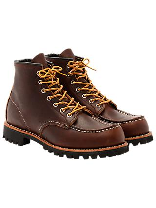 Red Wing 8146 Roughneck Boots, Briar