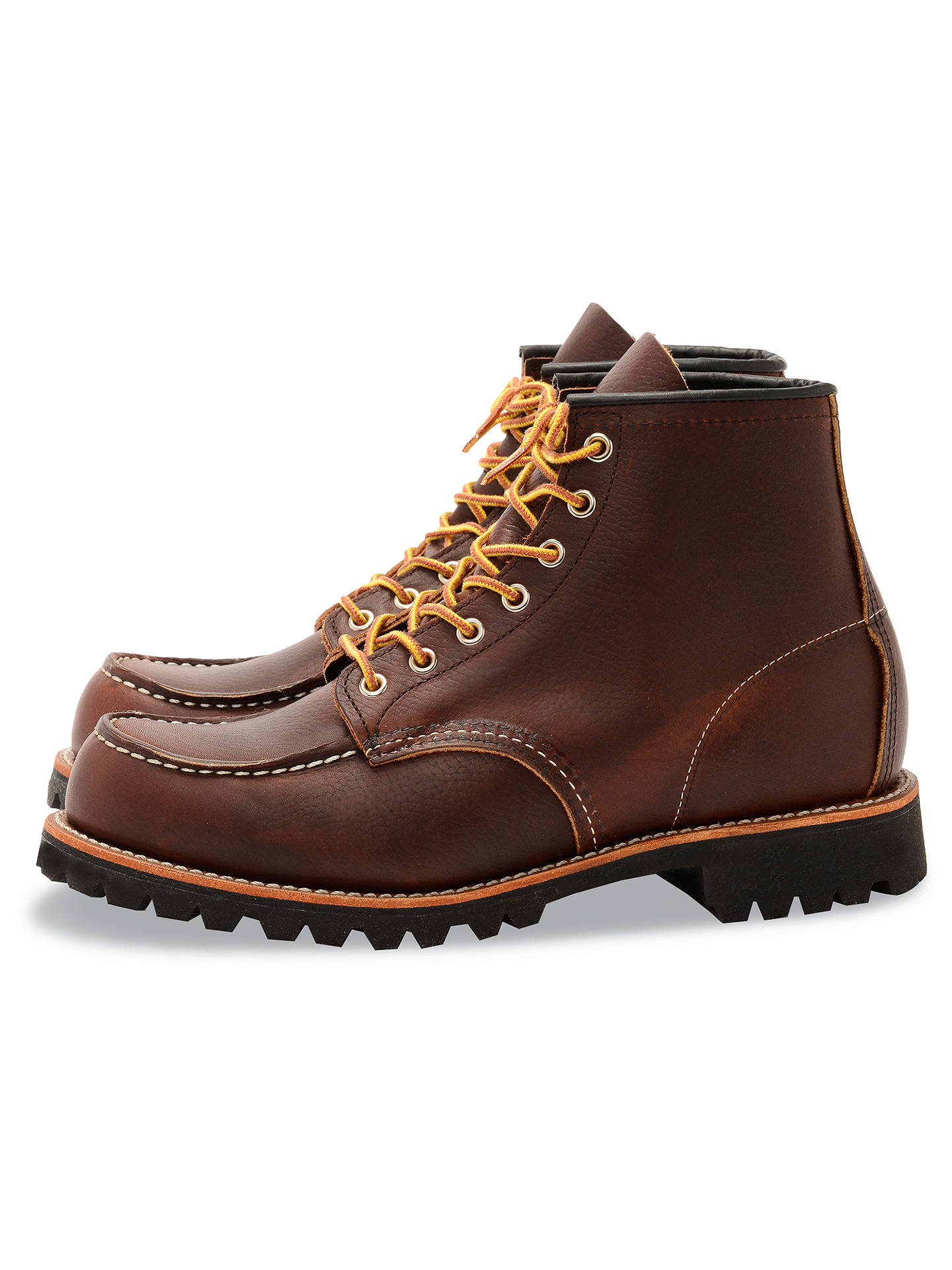 BuyRed Wing 8146 Roughneck Boots, Briar, 7 Online at johnlewis.com