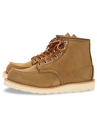 Red Wing 875 Moc Toe Boot, Olive Mohave