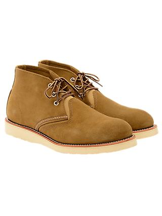 Red Wing 3141 Work Chukka Boot, Olive Mohave