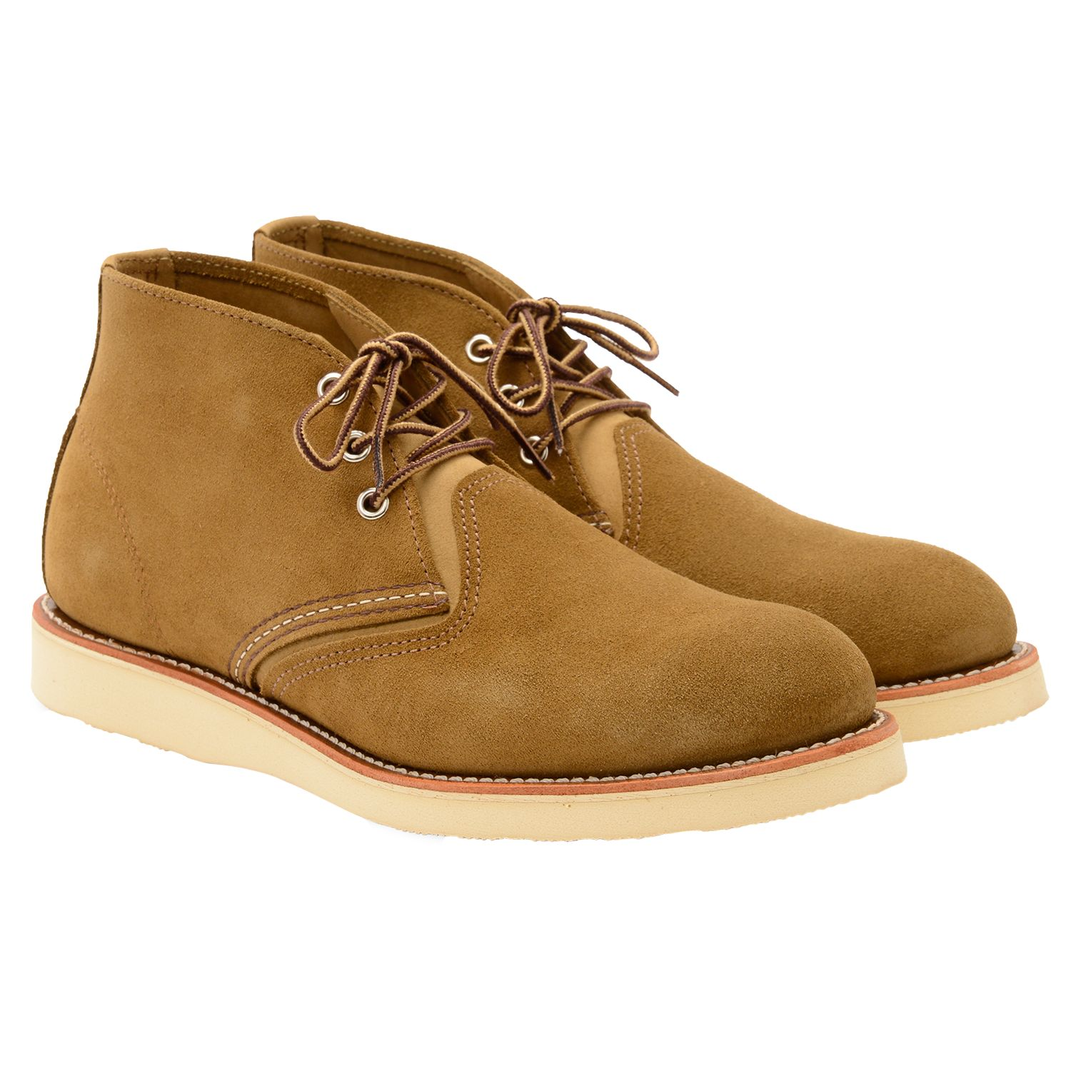 Red Wing Red Wing 3141 Work Chukka Boot, Olive Mohave