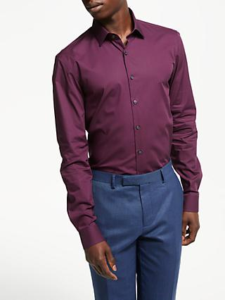 Calvin Klein Cotton Poplin Slim Fit Shirt