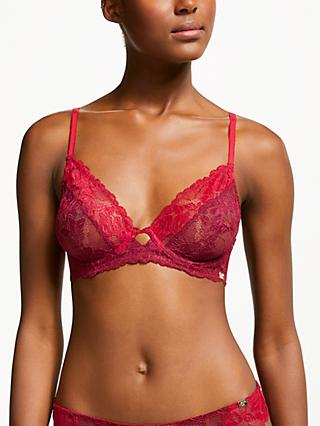 AND/OR Marni Non-Padded Bra, Red