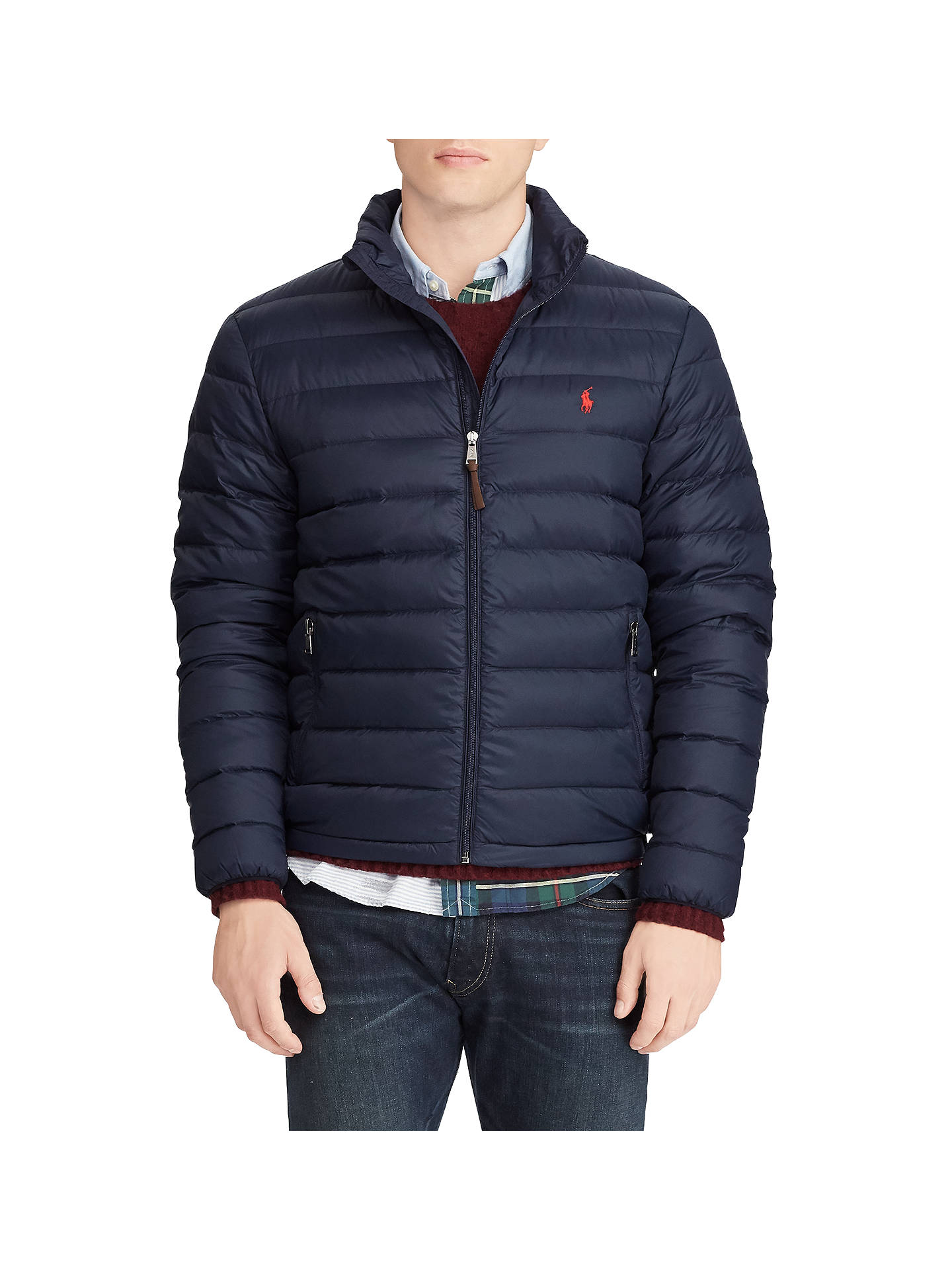b1fb12eae Polo Ralph Lauren Bleeker Quilted Jacket at John Lewis & Partners