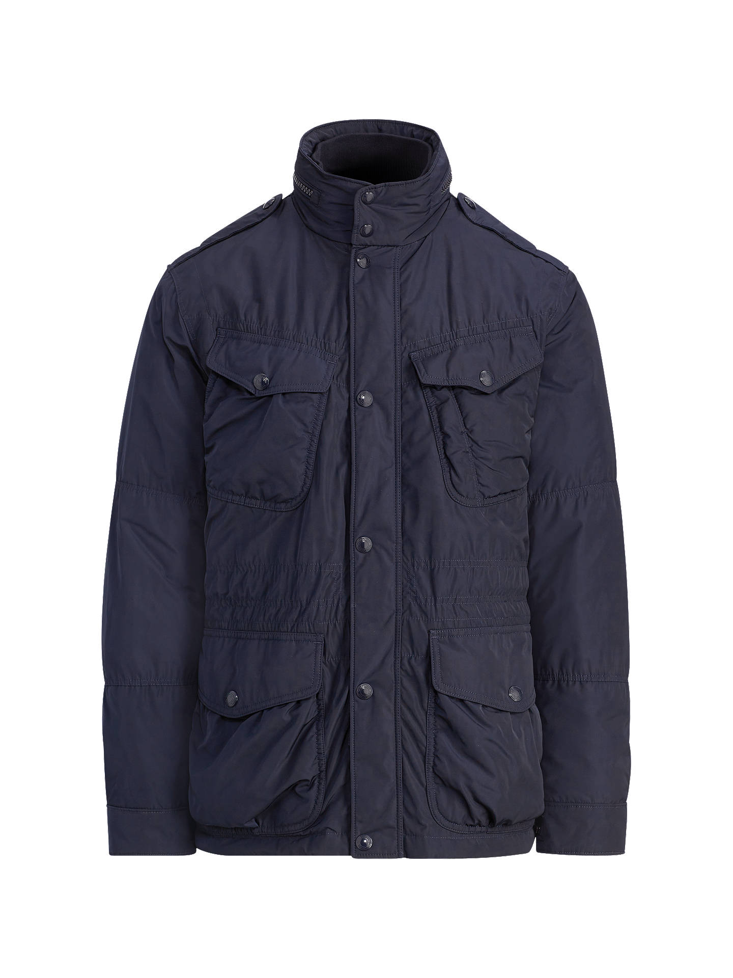 BuyPolo Ralph Lauren Battle Jacket, Aviator Navy, M Online at johnlewis.com
