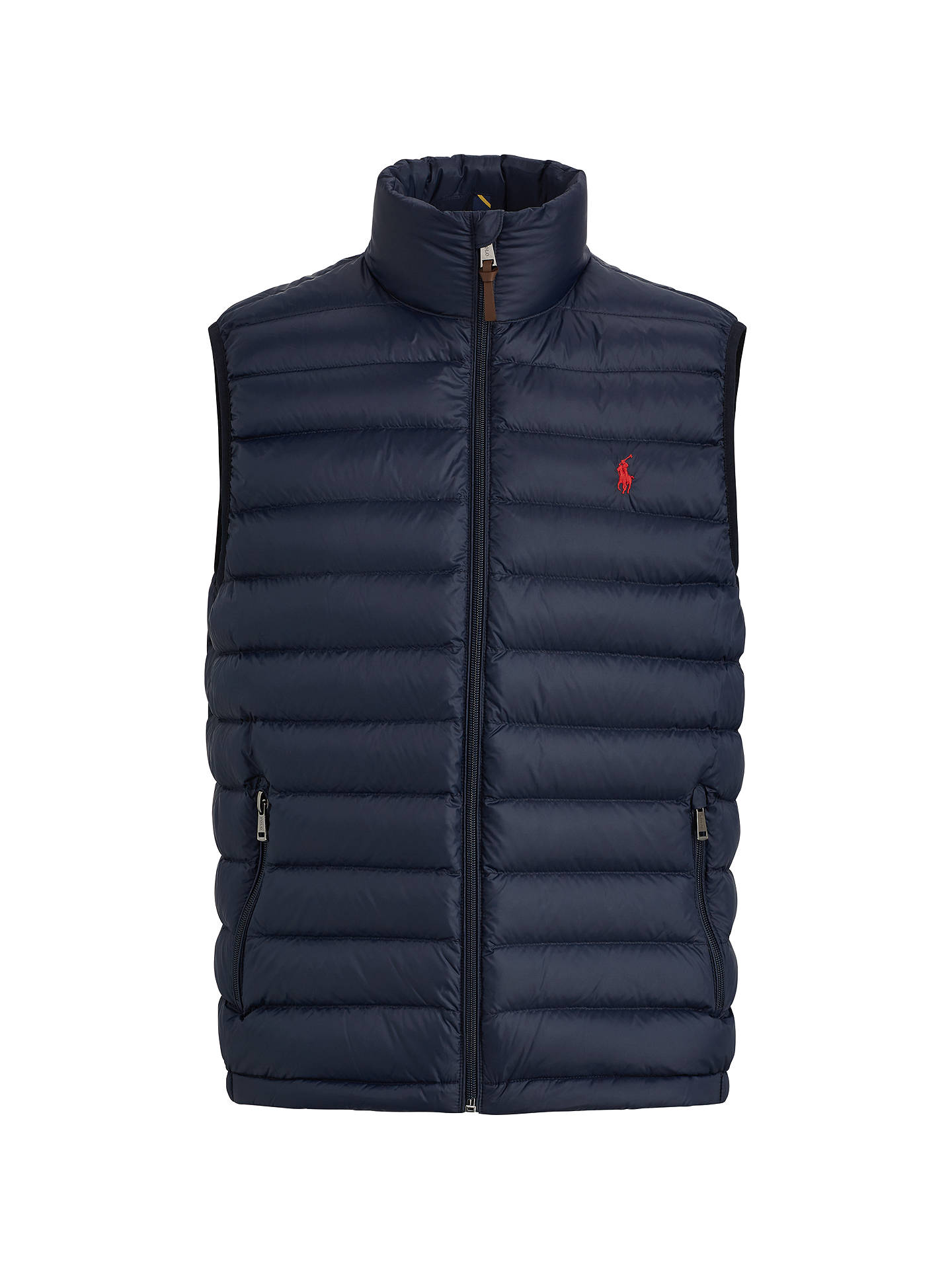 BuyPolo Ralph Lauren Bleeker Gilet, Aviator Navy, M Online at johnlewis.com