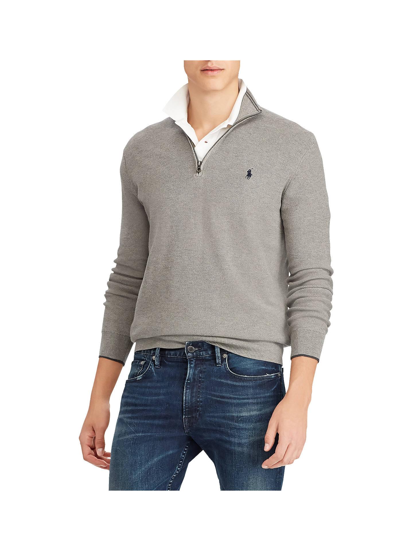 3ba1a4f53ab1 Buy Polo Ralph Lauren Half Zip Textured Knit Jumper