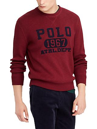 Polo Ralph Lauren Long Sleeve Embroidered Sweatshirt